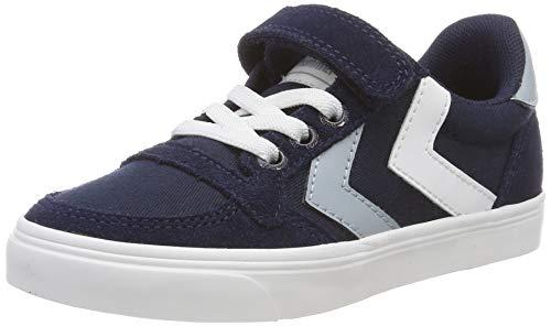 hummel Unisex Kinder Slimmer Stadil Low JR Sneaker (Jungen-canvas-schuhe)