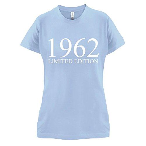 1962 Limierte Auflage / Limited Edition - 55. Geburtstag - Damen T-Shirt - 14 Farben Himmelblau