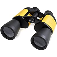Tasco 7x50 Offshore - Prismático, autoenfoque, negro y amarillo