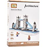 IGP Mini Tower London Bridge Assembly Set 570 Pcs Assembly Toys For Kids Birthday Gifts For Kids