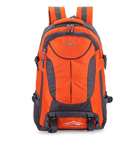 Outdoor-Klettern Tasche Schultern Große Kapazität Sport Outdoor-Freizeit-Reise Orange