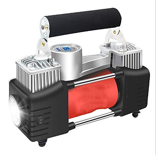 XPZ00 Auto-elektrische Luftpumpe 12v einzelner und doppelter Zylinder-tragbarer Reifen-Digitalanzeige-Metallkompressor