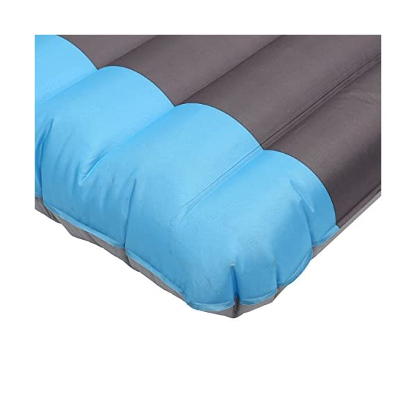 SGODDE Inflating Sleeping Pad Camping Mattress, Inflatable Sleeping Mat Ultra Thick 12 cm Compact & Waterproof | Durable & Ultralight for Outdoor Backpacking, Camping, Hiking, Sleeping bag (Blue) 2