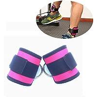 Preisvergleich für Fußschlaufen Kuke Ankle Straps für Kabelmaschinen und Widerstandsbänder für Männer und Frauen - Neopren gepolsterte Fußmanschetten für Gewichtheben Bein Fitness Workout (1 Paar)