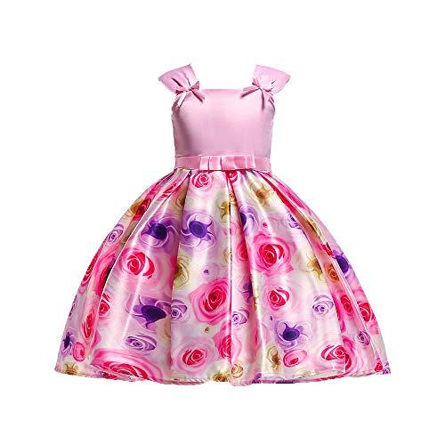 Blumen Baby Mädchen Prinzessin Kleid, Quaan Brautjungfer Festzug -