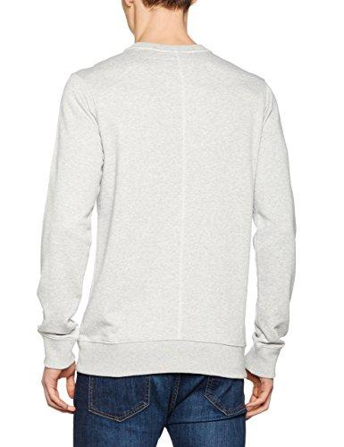Bench Herren Sweatshirt Graphic Crew Neck Grau (High Rise Marl GY003X)