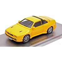 KESS MODEL KS43014022 MASERATI SHAMAL 1988 YELLOW ED.LIM.PCS 250 1:43