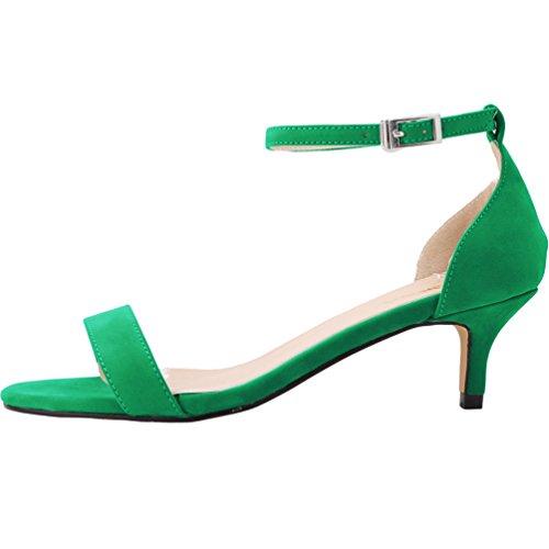 WanYang Damen Sandalen Heels Vorne Party Abschlussball Hochzeit Shallow Mund Schuhe mit Hohen Absätzen -