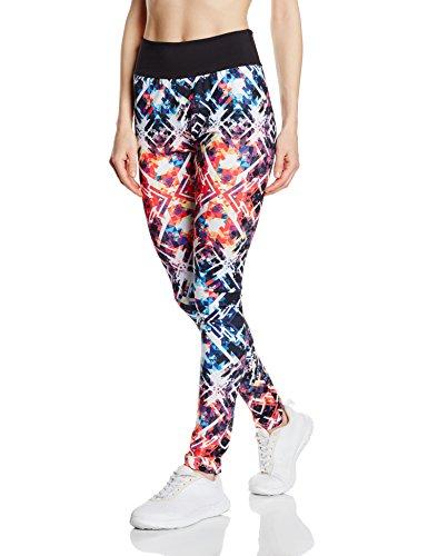 Intimuse Damen Sport Yoga Leggings mit breitem Bund, Mehrfarbig (bunt), Small