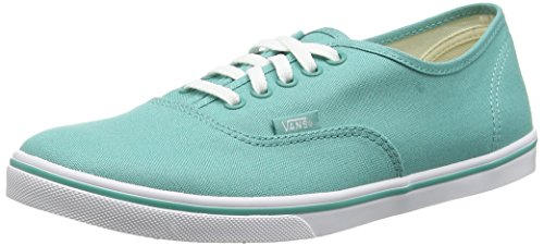 Vans Authentic Lo Pro, Baskets Basses Mixte Adulte Vert (Sea Blue/True White)