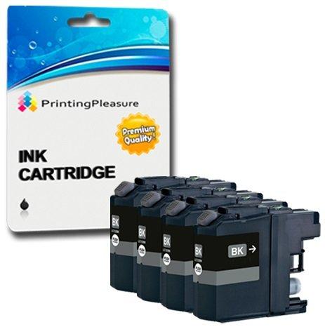 Preisvergleich Produktbild 4 SCHWARZ Druckerpatronen für Brother MFC-J5330DW, MFC-J5335DW, MFC-J5730DW, MFC-J5930DW, MFC-J6530DW, MFC-J6930DW, MFC-J6935DW | kompatibel zu Brother LC-3219XL BK