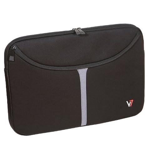 V7 Professional Sleeve Notebookhülle / Notebooktasche / Laptoptasche / Cover bis 40,6 cm (16 Zoll) schwarz