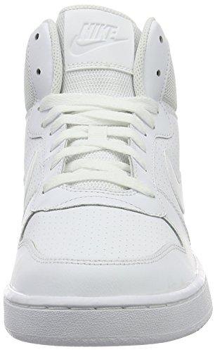 Nike Herren Court Borough Mid Basketballschuhe Elfenbein (Blanco Aa)