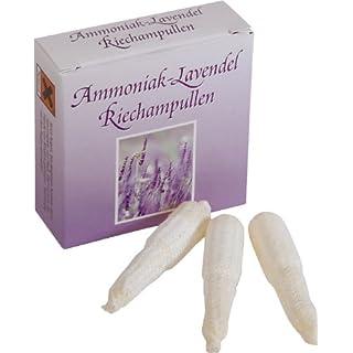 Riechampullen Ammoniak-Lavendel à 10 Stück in Schachtel