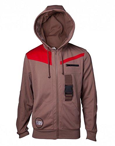 Star Wars Kapuzen Jacke Finn Outfit The Last Jedi braun - ()