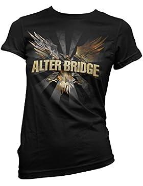 Camiseta Mujer Alter Bridge - Blackbird camiseta 100% algodón LaMAGLIERIA