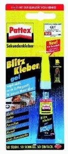 "Pattex Sekundenkleber ""Ultra-Gel"", WA 98, transparent, 3g VE="