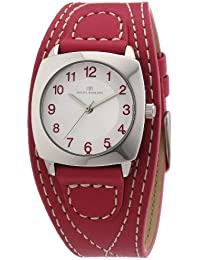 TOM TAILOR Damen-Armbanduhr XS Analog Quarz Leder 5409902