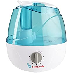 Badabulle Humidificateur Bleu/Gris Vapeur Froide Grande Autonomie