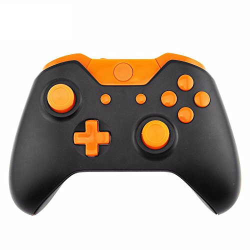 Third Party Xbox One Controller Shell Orange Black (Controller Not Included)