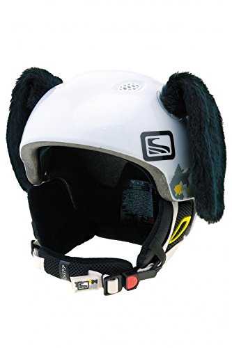 Crazy Ears Helm-Accessoires Hase Hund Ohren Ski-Ohren Tierohren , CrazyEars:Schwarze Hunde Ohren