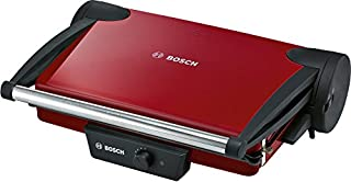 Bosch TFB4402V - Grill de contacto, 1.800 W, 3 posiciones de la parrilla, termostato regulable, color rojo/negro antracita (B009D3K67W) | Amazon Products