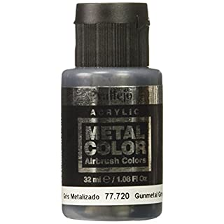 Acrylicos Vallejo 32 ml Metal Color - Gunmetal Grey