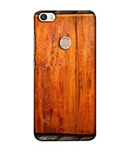 PrintVisa Designer Back Case Cover for REDMI MAX (Wooden Texture Work Brown Rope Plywood)