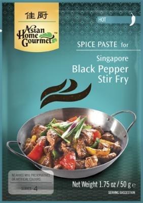 Asian Home Gourmet Singapore Black Pepper Stir Fry 50g