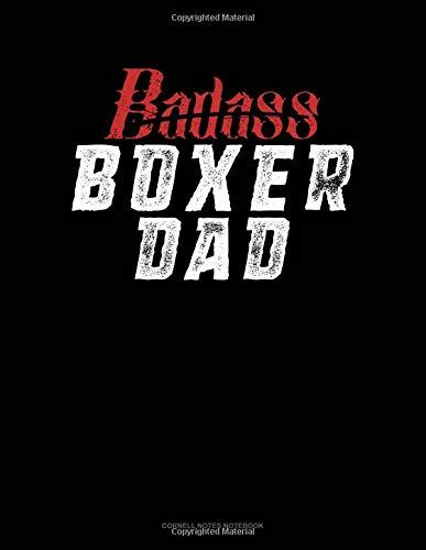Badass Boxer Dad: Cornell Notes Notebook por Jeryx Publishing