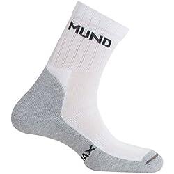 Mund Tenis 505 - Calcetines para mujer, color blanco, talla S (34-37)