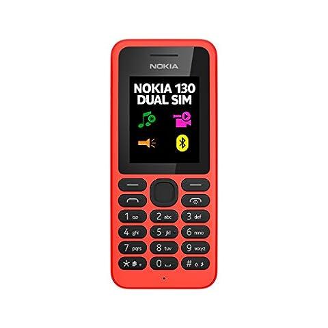 Nokia 130 DUAL Téléphone Mobile Compact
