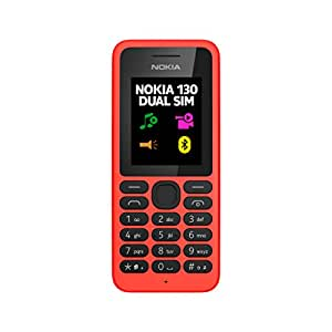 Nokia 130 DUAL Téléphone Mobile Compact Rouge
