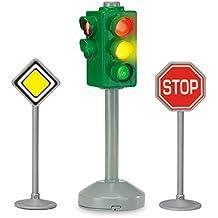 Dickie 203341000 City Light - Set de señales de tráfico