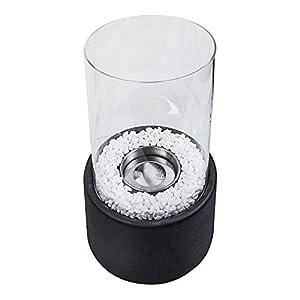 Holen Sie sich eine wunderschöne Atmosphäre ins Haus mit diesem formschönen Tischkamin und erfreuen Sie sich am Anblick lodernder Flammen. Der dekorative Tischkamin ist einfach und unkompliziert mit Bio-Ethanol zu betreiben. Genießen Sie den stimmung...