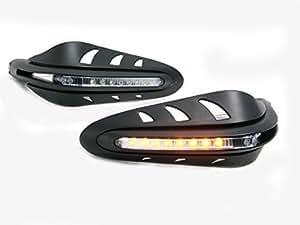 Protège-Main LED Intégré Universel Feu Clignotant Moto Quad