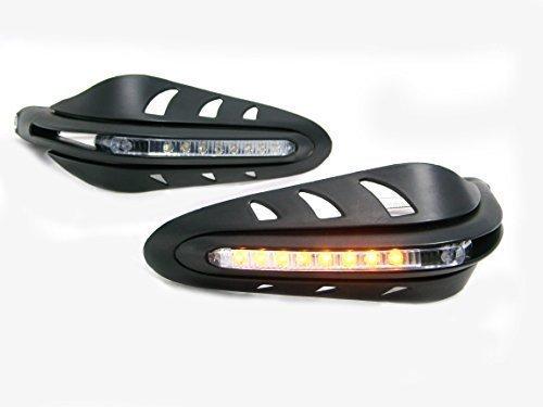 Universal integrierter LED Blinker Handguards Indikatoren Bike Quad Motorrad