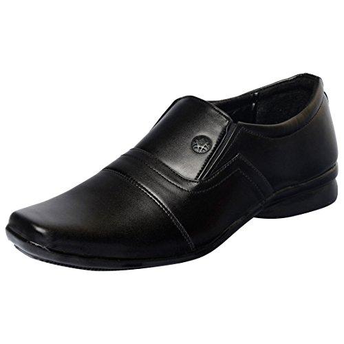 Fausto Fst 1602 Men's Black Formal Shoes -42