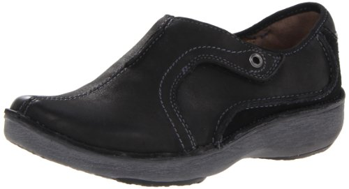 Clarks Wave-Strecke Slip-on Loafer Black