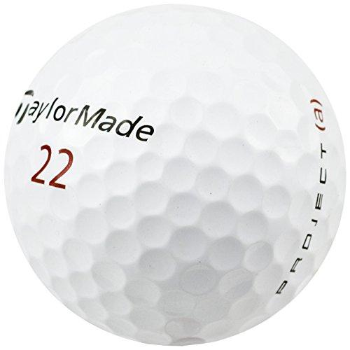 Taylor Made Project Golf Ball Unisex Erwachsene, Einheitsgröße, weiß