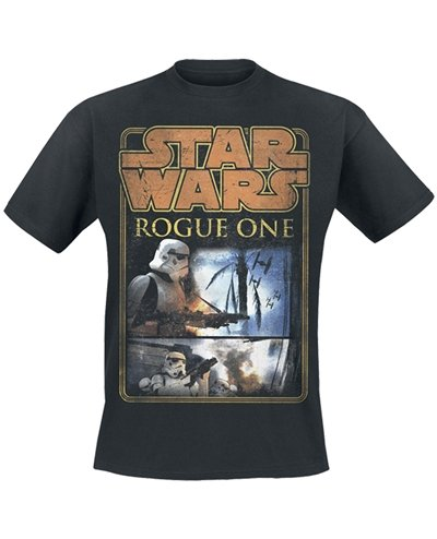 STAR WARS ROGUE ONE     ROGUE ONE       TS Schwarz