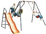 Childrens Hedstrom Swing Glider & Slide Saturn Outdoor Garden Kids Multiplay Set by MV Sports