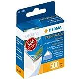 10 x HERMA Fotoecken Transparol Spenderpackung mit 500 Stück