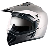 Off Road D/V Dull Anthracite Helmet-L