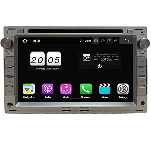 Plata 7 Pulgadas Coche Radio GPS Quad Core Android