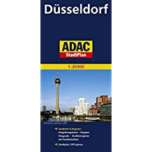 Plan de ville : Düsseldorf