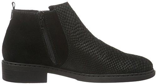 Rieker 57580, Stivali alla caviglia Donna Nero (nero/nero/nero / 00)