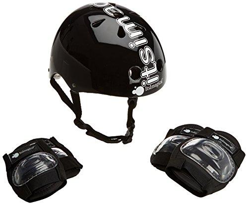 Preisvergleich Produktbild Imaginarium 59247 - Skateboard- und Inliner-Sicherheitsausrüstung für Kinder, schwarz
