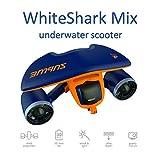 Sublue Elektrischer Unterwasserscooter WhiteShark Mix Tiefe 40 Meter Batterie 122 Wh Geschwindigkeit Betrieb 30 min Tauchen Strand Sommer Schnorcheln Urlaub Meer Freistil Erwachsener Türkis WHSHAB01