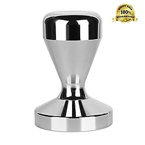 Pressino per caffè, 2 anni di garanzia, 51 mm, in acciaio INOX, la aggiorna il tuo Deserves Espresso